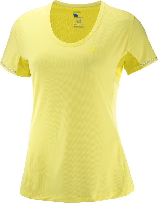 Salomon AGILE SS TEE W LIMELIGHT