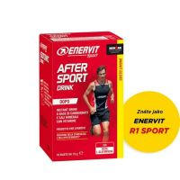 ENERVIT After Sport Drink - 10x 15g - citron